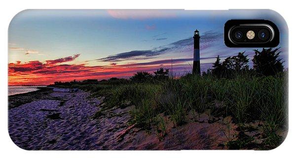 Navigation iPhone Case - Fire Island Sunrise by Rick Berk