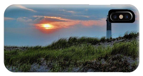 Navigation iPhone Case - Fire Island Sunset by Rick Berk