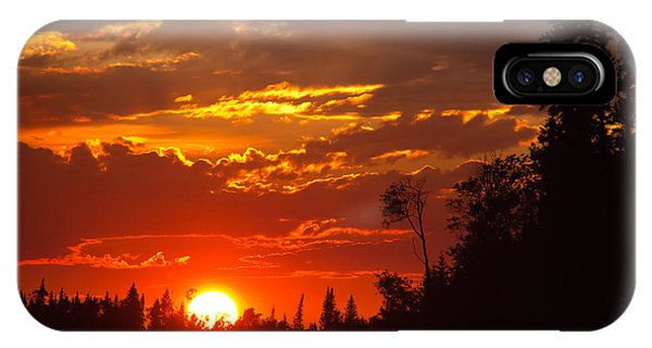 Fire Sun IPhone Case