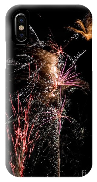Fireworks Phone Case by Cindy Singleton