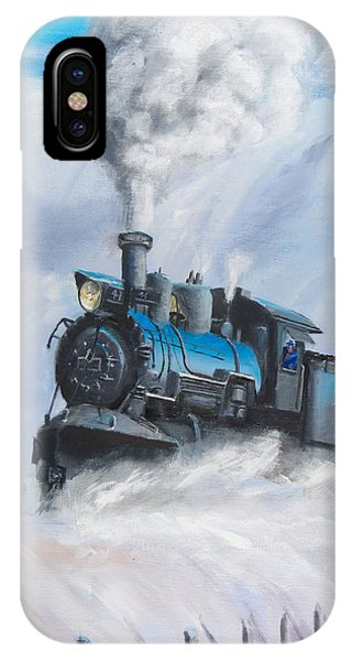 First Train Through IPhone Case