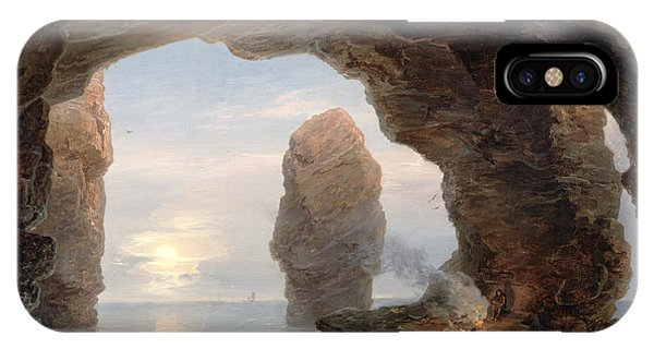 Fisherman In A Grotto Helgoland IPhone Case