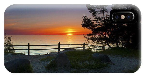 Fisherman's Island State Park Phone Case by Megan Noble