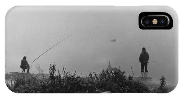 Fishin On The Rhine IPhone Case