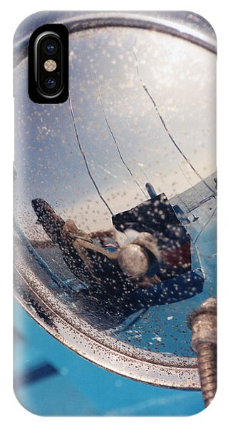 Fishing Boat Reflection IPhone Case