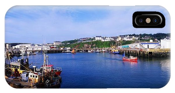 Dunmore East iPhone Case - Fishing Harbour, Dunmore East, Ireland by The Irish Image Collection