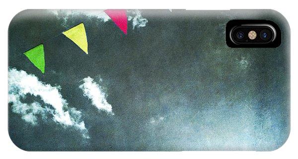Bunting iPhone Case - Flags by Bernard Jaubert