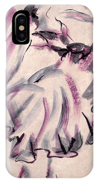 Flamenco Dancer 12 IPhone Case