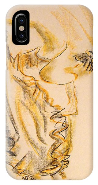 Flamenco Dancer 2 IPhone Case