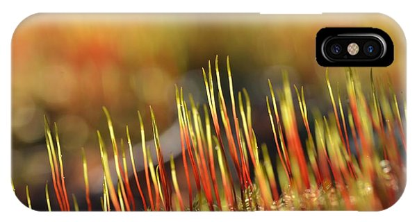 Flaming Moss IPhone Case