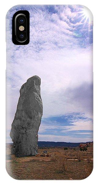 Flat Chimney Rock IPhone Case