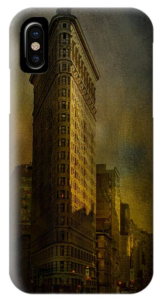 Flatiron Building...my View..revised IPhone Case