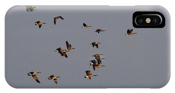 Flight - Near Evening IPhone Case
