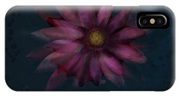 Floating Flower IPhone Case