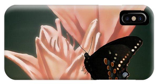 Floral Butterfly Dance Phone Case by Debra     Vatalaro
