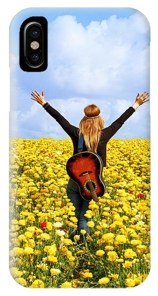 Flower Power Phone Case by Donna Pagakis
