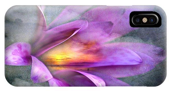 Flower Spirit IPhone Case