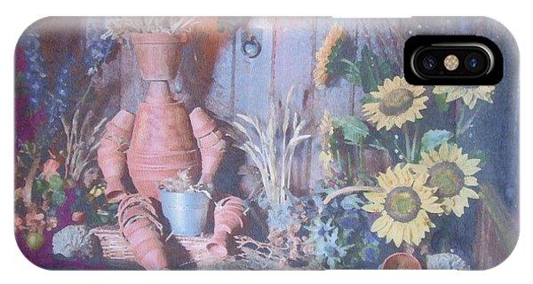 Flowerpotman IPhone Case