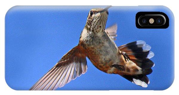 Flying Backwards - No Problem IPhone Case
