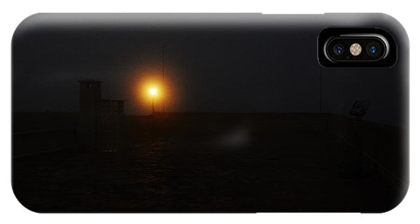 Fog In San Salvador IPhone Case