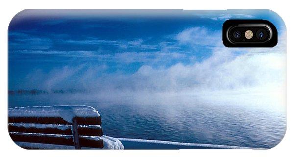 Fog Of Winter IPhone Case