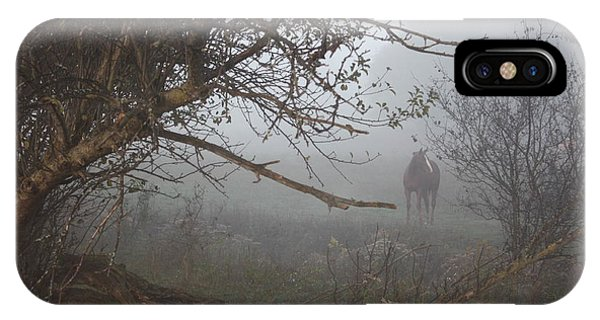 Foggy Horse IPhone Case