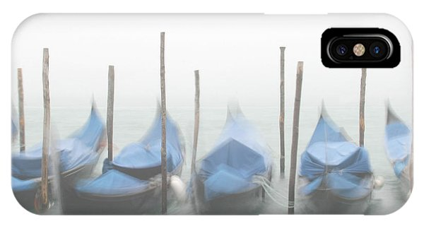 Foggy Morning Grand Canal IPhone Case