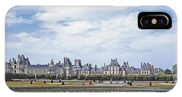 Fontainebleau Palace  IPhone Case