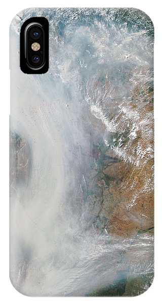 Forest Fires In South America Phone Case by Nasa