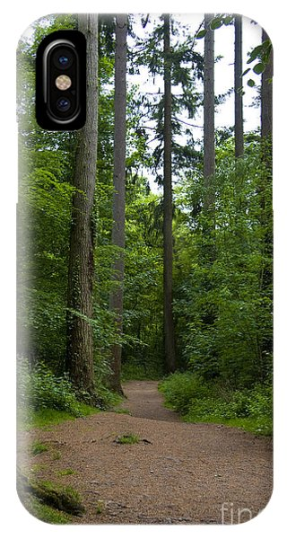 Forest Trail Phone Case by Ron Telford