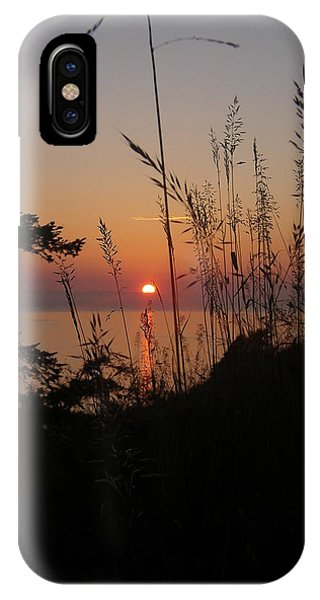 Fort Ebey Sunset IPhone Case