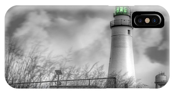 Fort Gratiot Lighthouse IPhone Case