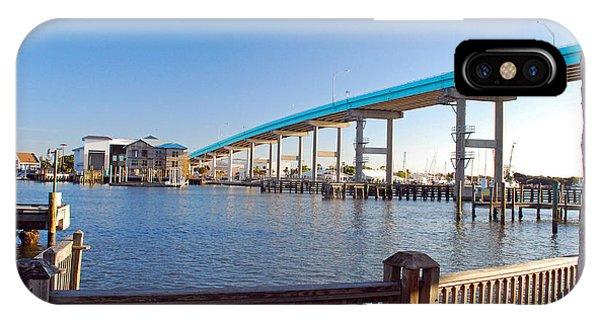 Fort Myers Bridge IPhone Case