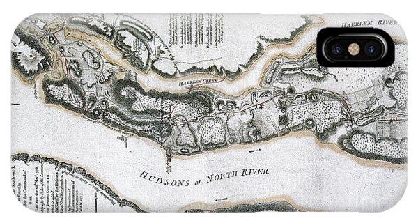 Fort Washington Attacks, 1776 IPhone Case