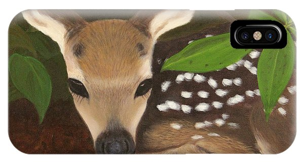 Found A Fawn IPhone Case