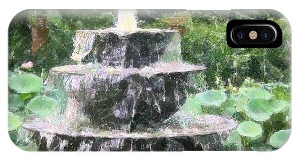 Fountain IPhone Case