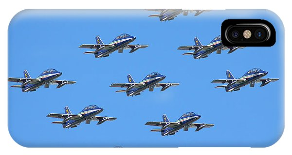 Frecce Tricolori Diamond 9 IPhone Case