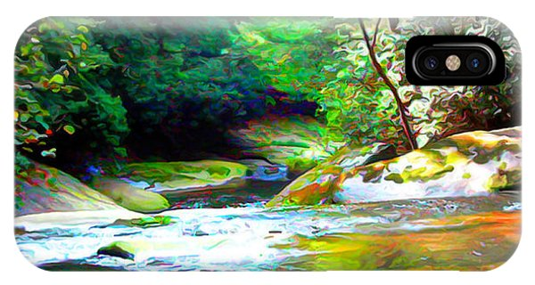 French Broad River Filtered IPhone Case