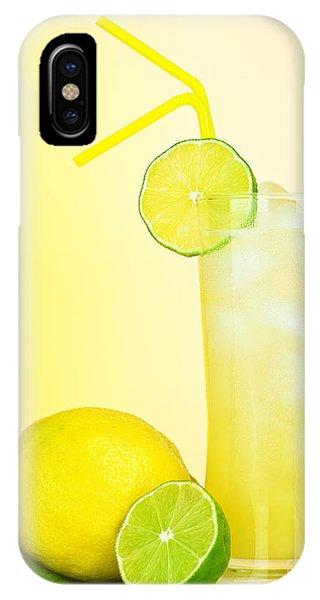 Fresh Lemon Juice Phone Case by Anna Om