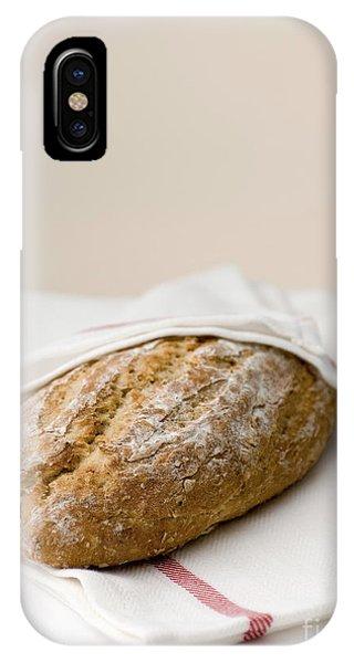 Freshly Baked Whole Grain Bread IPhone Case