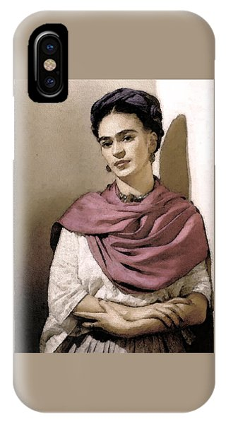 Frida Interpreted 2 IPhone Case