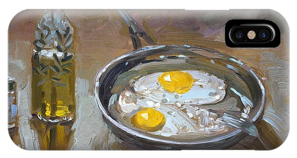 Eggs iPhone Case - Fried Eggs by Ylli Haruni