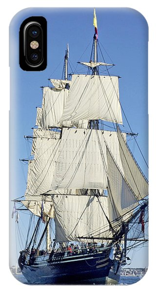 Friendship Sloop Out Of Salem IPhone Case