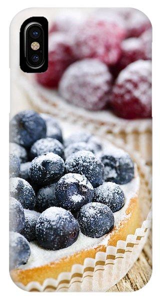 Fruit Tarts IPhone Case