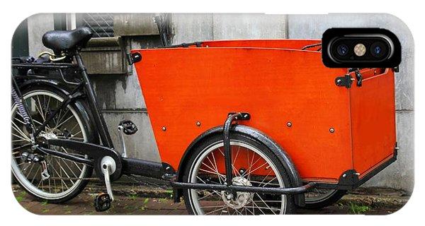 Funky Bike Phone Case by Sophie Vigneault