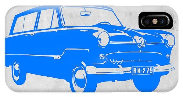 Beetle iPhone Case - Funny Car by Naxart Studio