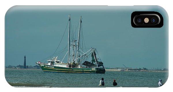 Galveston Fishing IPhone Case