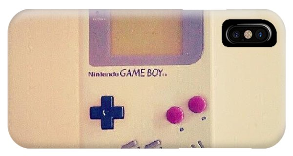School iPhone Case - Gameboy by Lewis Ross
