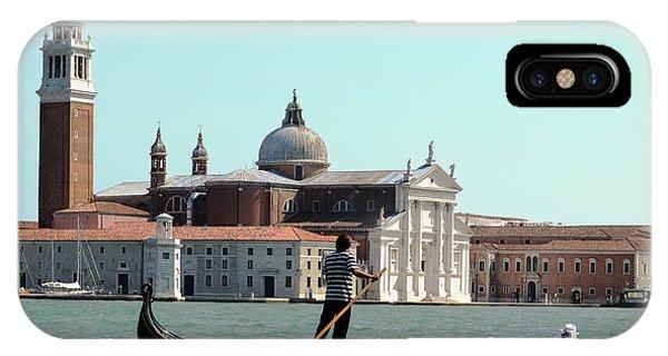 Gandola Rides In Venice IPhone Case