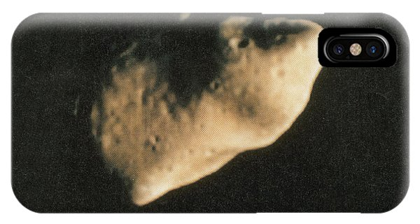 Luminous Body iPhone Case - Gaspra, S-type Asteroid, 1991 by Science Source